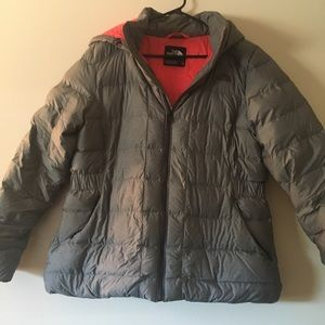 The North Face jacket, worn 3 times
